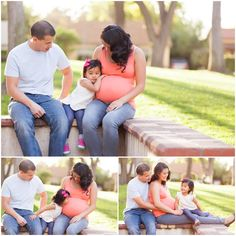 Classic Maternity Portraits at South Pasadena Library by Just Maggie Photography -- Los Angeles Maternity and Newborn Photographer