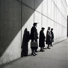 Vivian Maier, New York, NY, 1954