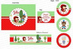 Kit Digital Chapeuzinho Vermelho 10 | Charme Papeteria | Elo7