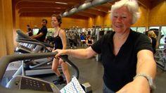 Video reportage Koppen - 80+ in de fitness (belang van spiertraining bij ouderen)