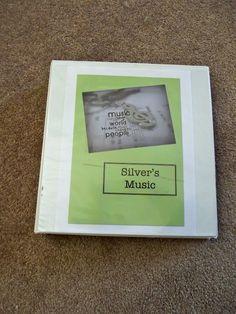 DIY Music Book