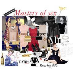 """Masters of Sex"" by lisasweiback on Polyvore"