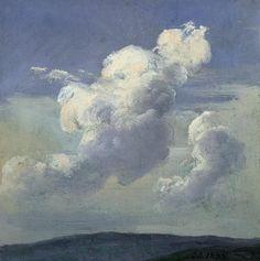 Johan Christian Dahl, Cloud Study, 1832