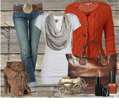 Fall fashion by wannabchef on Polyvore
