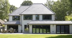 Bespoke Windows in a Range of RAL Colours, Made to Measure.