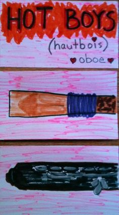 oboe sketches