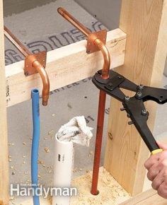 Copper pipes and pipe freezing on pinterest for Is pex pipe better than copper