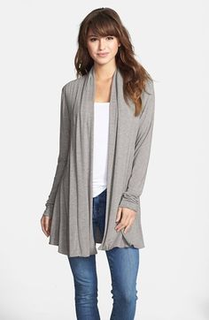 Kische Open Front Cardigan available at #Nordstrom