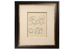 "APF MUNN | Henri Matisse, La Religieuse Portugaise | giclee | 20"" x 23"" | 700.00 retail"