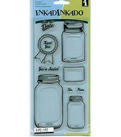 Inkadinkado Unmounted Clear Stamps ~ Mason Jars!!! Inkadi... https://www.amazon.com/dp/B011DN9VSO/ref=cm_sw_r_pi_dp_x_TriKybJXG9CE8