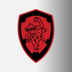 "Angry Monkeys Racing Logo Decals, 4"""