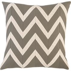"""Chevron Blush 18"""" Pillow in Decorative Pillows 