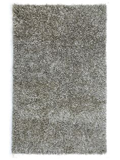 Woven Sterling Silver Shag by Jaipur Rugs at Gilt