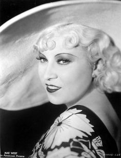 Mae West (August 17, 1893 – November 22, 1980)