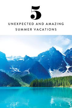 5 Amazing Summer Vacations You Haven't Thought -- Canadian roadtrip, Colorado Dude Ranch, Midwest lighthouses, Charleston SC, and Cali Coastal Escape