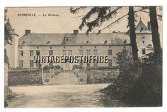 Bonneville vintage postcard Bonneville Le door vintagepostoffice