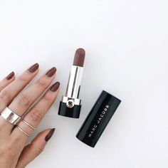 When your lipstick and your nail polish match, you know it's a great day!