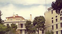 The American School of Classical Studies is the third oldest foreign archaeological institute in Athens, operating in the city since (Walking Athens, Route 12 - Concert Hall) The American School, Modern City, Concert Hall, Neoclassical, Seattle Skyline, Athens, The Locals, Third, Greek