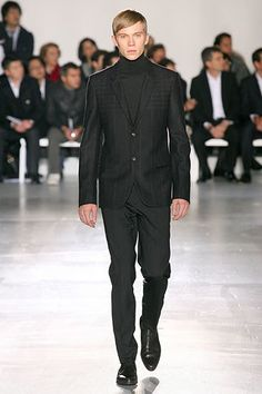 f8f508d56 Jil Sander Fall 2007 Menswear Fashion Show