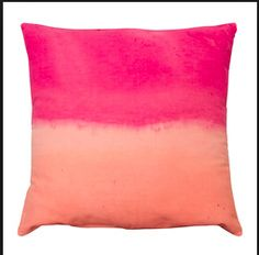 Dip dyed cushion cover