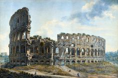 Rome Before & After | The Colosseum ( Louis Ducros)