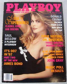 #Playboy Magazine May 1997 #ClaudiaSchiffer #BillyCorgan #CindyCrawford Music New - #BuyItNow for only $28.99 with #FreeShipping #SmashingPumpkins  Direct ebay link: http://www.ebay.com/itm/141728072635?ssPageName=STRK:MESELX:IT&_trksid=p3984.m1555.l2649