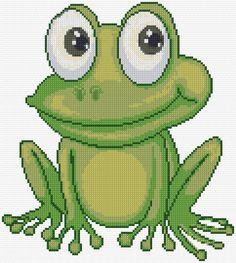 Cross Stitch | Frog xstitch Chart | Design