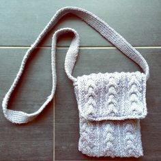*CYBER MONDAY SALE!* Mini crochet crossbody Mini crossbody bag (though on me it's too short to be worn as such...).  Maybe it's worn on same shoulder? Never used Amanda Smith Bags Mini Bags