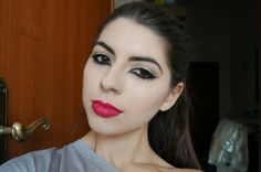 TheDeathBerryBeauty - Feline eyes and bold matte lips (video tutorial)ft. MAC All Fired Up