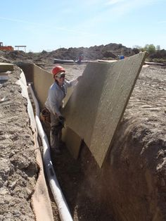 Building a Rubble Trench Foundation