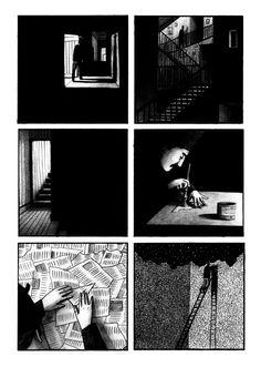 Narrative work - Bill Bragg Illustration