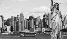 photo new york city black and white hi contrast Stock Photo - 14004204