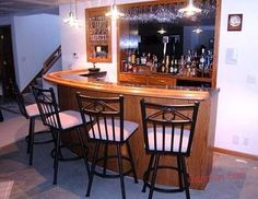 Home Bar Tour | Easy Home Bar Plans