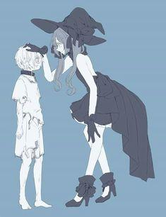 Anime Couples Drawings, Anime Couples Manga, Cute Anime Couples, Anime Cupples, Chica Anime Manga, Cute Anime Character, Character Art, Anime Witch, Mystique