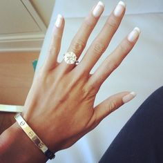 Cartier love bracelet and a solitaire ring... I'm in love