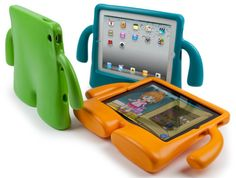 Speck iGuy Kid-Friendly Case for iPad Mini from Cool Style from CoolStyle on Storenvy. Saved to Case for iPad Mini. Ipad Air 2, Ipad 1, Accessoires Ipad, Gifts For Techies, Ipad 2 Case, Cadeau Design, Child Life Specialist, Cute Wallpapers For Ipad, Ipad Holder