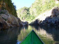 Adentrándose en el cañón de Somoto. Nicaragua.