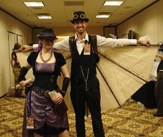 Awesome steampunk wings
