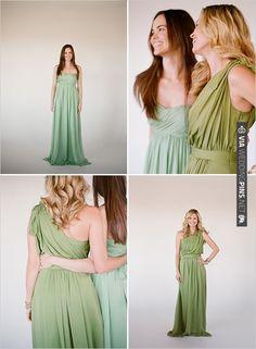 Little Borrowed Dress | CHECK OUT MORE IDEAS AT WEDDINGPINS.NET | #bridesmaids