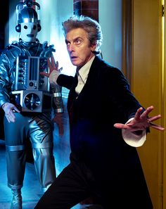 Doctor Who, Twelfth Doctor and classic Cyberman