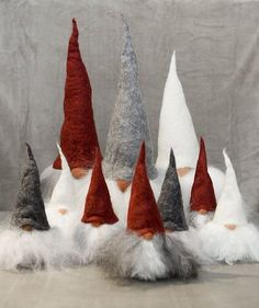 This step-by-step Scandinavian Christmas Gnome DIY tutorial is sure to make you home more festive for the holidays. All you need are are few inexpensive materials and you can make the cutest gnomes to decorate