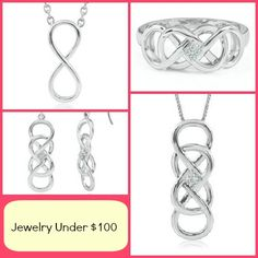 Helzberg Dianmond Infinity X Infinity Under $100 collection
