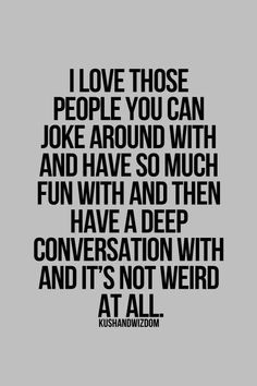 Love those people...