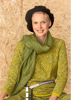 Monochrome scarf, cactus F6 60909-80.jpg linen
