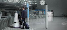 Roboter von LG erobern den Flughafen von Seoul