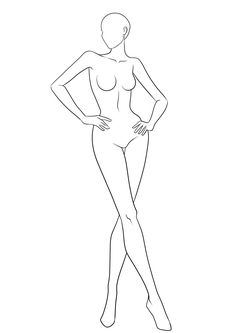 female outline 13 1654 x 2338 carwad net - The world's most private search engine Figure Drawing Female, Fashion Figure Drawing, Fashion Model Drawing, Figure Drawing Models, Fashion Design Drawings, Fashion Sketches, Fashion Sketchbook, Male Figure, Figure Drawings