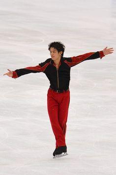 SAITAMA, JAPAN - OCTOBER 05:  Takahiko Kozuka of Japan performs during the Japan Open 2013 Figure Skating at Saitama Super Arena on October ...