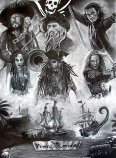 Pirates Of The Caribbean by Emma Layton [©2007]