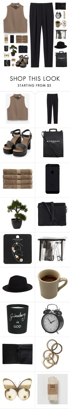 """"""" I gave you something you can never give back, don't you mind. """" by centurythe ❤ liked on Polyvore featuring Zara, Rebecca Taylor, Givenchy, Christy, Nearly Natural, Pieces, Topshop, Rusty, Bella Freud and Monki"""