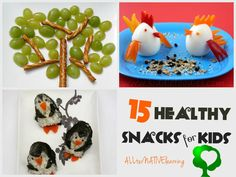 Healthy Snacks for Kids: 15 Fun Ideas! - ALLterNATIVElearning